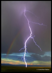 2-lightning and rainbow